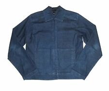 Eileen Fisher Denim Shirt Button Down Blue Jean Long Sleeve Sz XS