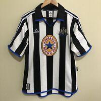 Newcastle United Adidas 1999/2000 Vintage Football Jersey Mens Medium