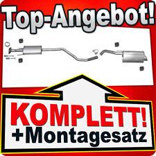 Auspuffanlage Nissan Note 1.4 Auspuff Endtopf Mitteltopf Dichtung Bj.01.06-10.07