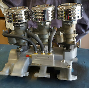 Ford Y-Block Tri-power manifold and carburetors