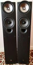 KEF iQ5SE 3-Way Floorstanding Speakers with front-firing bass port. Bi-wire.