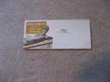 1960-61 GILBERT AMERICAN FLYER TRAINS FOLDER VERY GOOD RS D2224