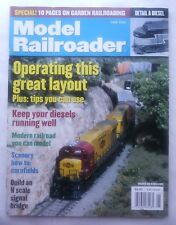 MODEL RAILROADER MAGAZINE JUNE 2002 Detail a Diesel Keep Diesels Running Well