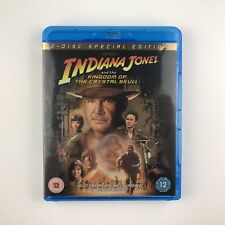 Indiana Jones And The Kingdom Of The Crystal Skull (Blu-ray, 2008, 2-Disc Set)