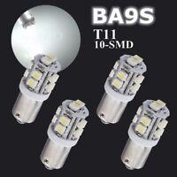 4x T11 BA9S 1895 T4W SMD Xenon Weiß LED Standlicht Innenraum Beleuchtung 12V