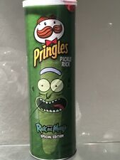 1 Can of PringlesRick and Morty Limited Edition Potato Chips 5.5 oz (3 lot)