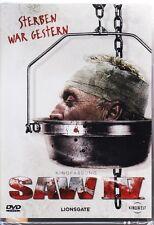 SAW IV (4) - Kinofassung  FSK 18  DVD NEU