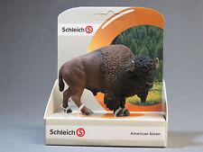 Schleich American Bison buffalo 14714 New ol
