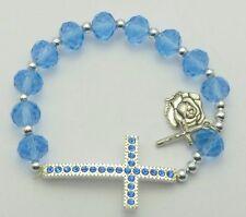 Single Decade Rosary Bracelet & FREE Lourdes Prayer Card -  CATHOLIC GIFTS