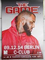 THE GAME 2014 BERLIN  --  orig.Concert Poster - Konzert Plakat  A1  NEU