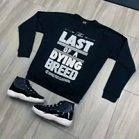 Sweater to match Jordan Retro 11 Jubilee 25th Anniversary Sneakers. Dying Breed