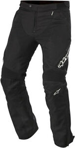 ALPINESTARS RAIDER Drystar Textile Touring Pants (Black) Choose Size