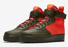 07f1bf1825e Nike Sf Air Force 1 Mid Qs Mens Trainers New RRP £130.00 Box Has No