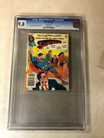 Superman #6 CGC 9.8 NM/MT top graded BEST of DC BLUE RIBBON DIGEST 1980 LOIS