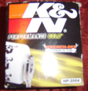 K&N HP-2004 Engine Oil Filter NEW Dodge Chrysler Jeep Plymouth Ford Mercury