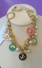 Bella Jack Nautical bracelet in gold tone