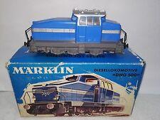 Märklin H0 3078 Diesellok DHG 500 analog kaum bespielt in OVP von 1970