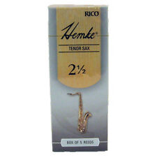 Rico RHKP5TSX250 Hemke Tenor Saxophone Reed #2.5 Box of 5