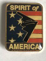 B-2 Stealth Bomber Spirit of America Lapel/Hat Pin Back