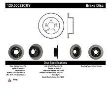 Disc Brake Rotor-Premium Disc-Preferred Rear Centric fits 07-12 Kia Rondo