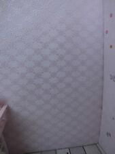 perlmutt-rosa Papier-TAPETE,dezente Ornamente, für PUPPENSTUBE,Bogen:30x53cm