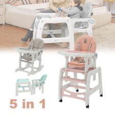 Babystuhl Kinderstuhl Babyhochstuhl Hochstuhl Babysitz Kombihochstuhl 5 in 1