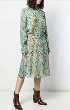 NWT EQUIPMENT FEMME Magnolia Silk Midi Dress Size 6 $425