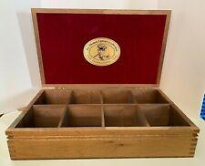 Vintage Sir Thomas Lipton's Collection Specialty Teas Wood Box