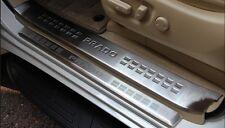 8PCS Stainless Steel Door Sill Plate Cover For 10-2017 Land Cruiser FJ150 Prado