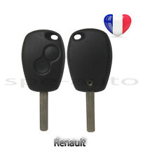 plip coque clé Renault Trafic Master Fluence Latitude Espace Modus + lame 2