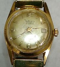 Vintage Voltaire incabloc automatic ladies swiss watch with date