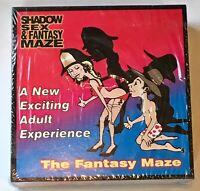 Shadow Sex & Fantasy Maze Board Game Vintage New