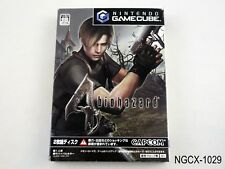 Biohazard 4 Resident Evil Gamecube Japanese Import GC NGC Japan US Seller B