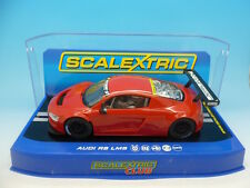 Scalextric Audi R8 Pre Production car in deep red