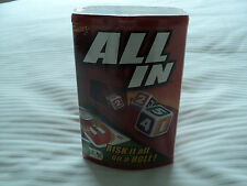 Fundex ALL IN Family Dice game. 2-4 players. 8+
