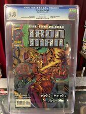 IRON MAN  #v2 #9, #341 CGC 9.8, MAVEL COMICS (1997) Fantastic Four Appearance!