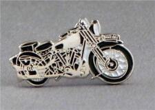 BROUGH SUPERIOR - LAPEL PIN BADGE - BIKER MOTORBIKE RACING CLASSIC BIKE (LB-01)
