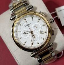 Ferragamo Idillio Mens Watch with 42mm face Golden & Silver Two Tone Breclet