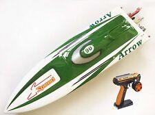 DT E36 Sword Electric RC Speed Racing Boat 80km/h 120A ESC Fiber Glass RTR Green