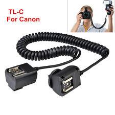 Godox TL-C 3M e-TTL Off-camera Hot Shoe Sync Cord Cable for Canon Camera Flash