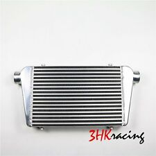 "2.5"" Inlet & Outlet  Universal Bar&Plate Front Mount Turbo Intercooler 25x12x2.5"