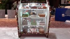 Dollhouse Miniature Artisan Bakery Cake/Candy Shop Display Cases-Desserts