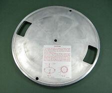RARE Panasonic/National/Technics SG-1080L REPAIR PART - ORIGINAL METAL PLATTER