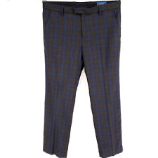 🔥 Fairlane 34x30 Stretch Golf Pants Plaid Check Modern Slim Straight Loudmouth