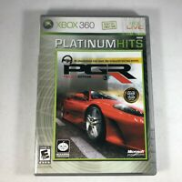 Project Gotham Racing 3 (Microsoft Xbox 360 , 2005) Tested Complete With Manual