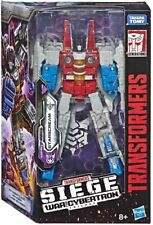 Starscream Transformers War For Cybertron Siege Voyager Class Action Figure