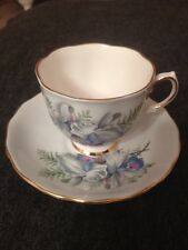 Ridgway Potteries England Bone China Cup and Saucer Colclough Pattern