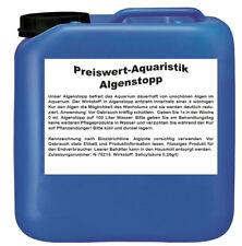 (4,99€/l) Preiswert-Aquaristik Algenstopp Aquarium 2,5 L Algenvernichter