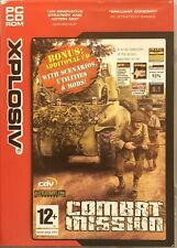 Combat Mission For PC CD-Rom Supplied In Original Case (Free Post)