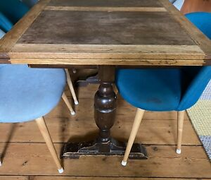 Vintage Wooden Extendable Dinning Table